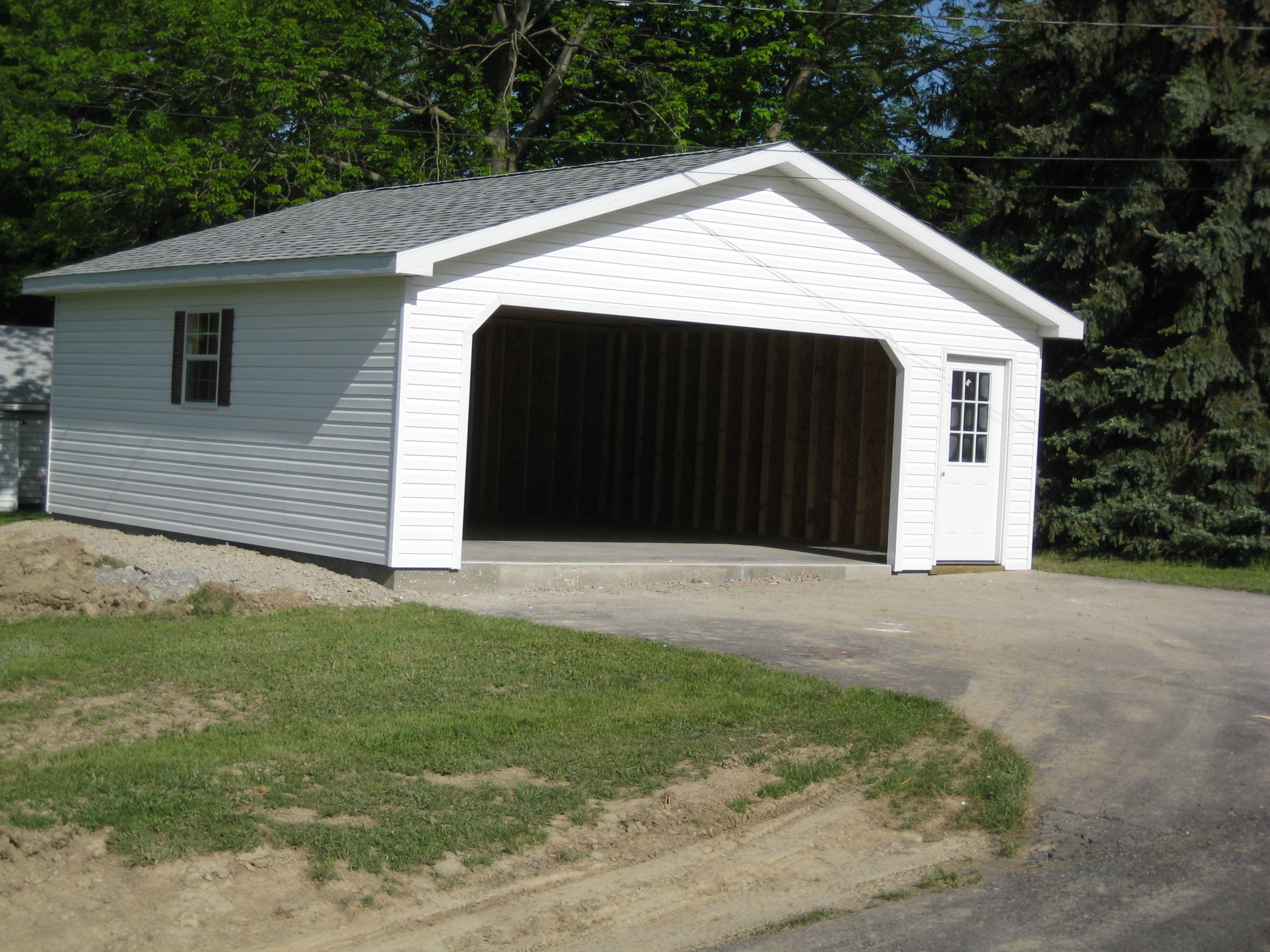 22 39 detached garage for 2 car detached garage kits