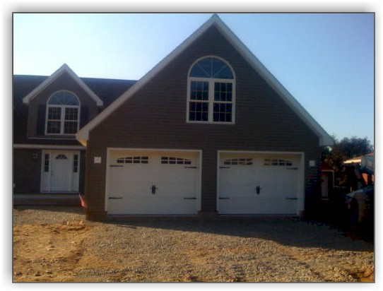 built site on garage in barn custom batten company double board amish painted wide and car ny oneonta garages